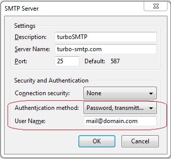 SMTP Authentication