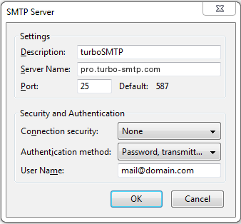 Smtp Settings Smtp Mail Server Professional Smtp