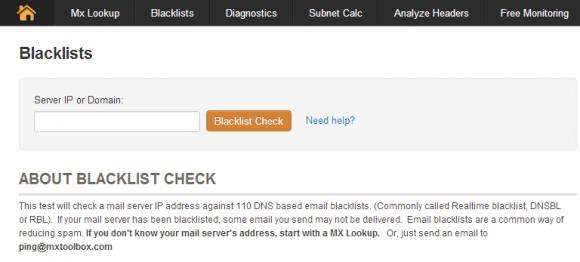 Email blacklist - smtp mail server - professional SMTP service provider