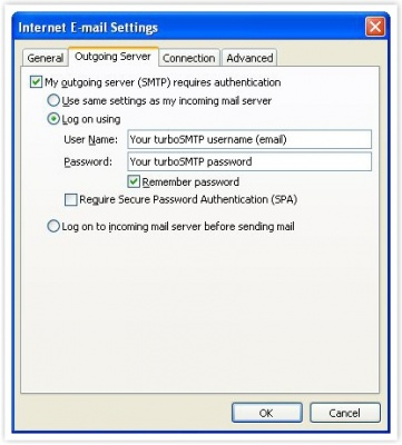 SMTP settings for Outlook - smtp mail server - professional SMTP
