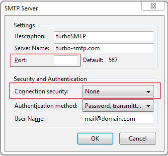 what does smtp mail server mean