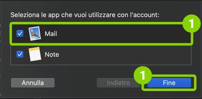 Come configurare il client di posta Mac OS Mail