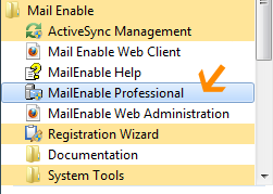 MailEnable smart host