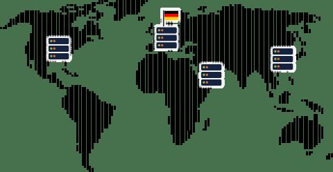 Server-Infrastruktur in Deutschland