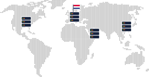 Server infrastructure in Netherlands