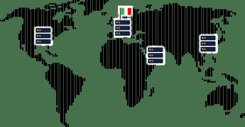 Infrastruttura server in Europa